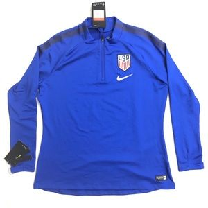 Nike USA Soccer Blue Women's Large Jersey
